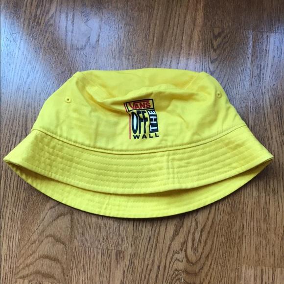 73866e088a Vans logo yellow bucket hat ✨. M 5bfb38b3035cf1f26196e2f7